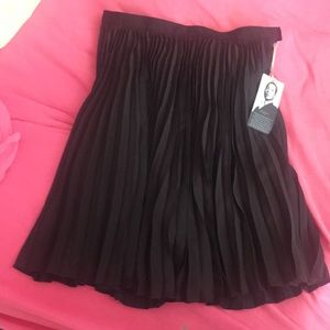 Black pleated skirt by Jason Wu for target